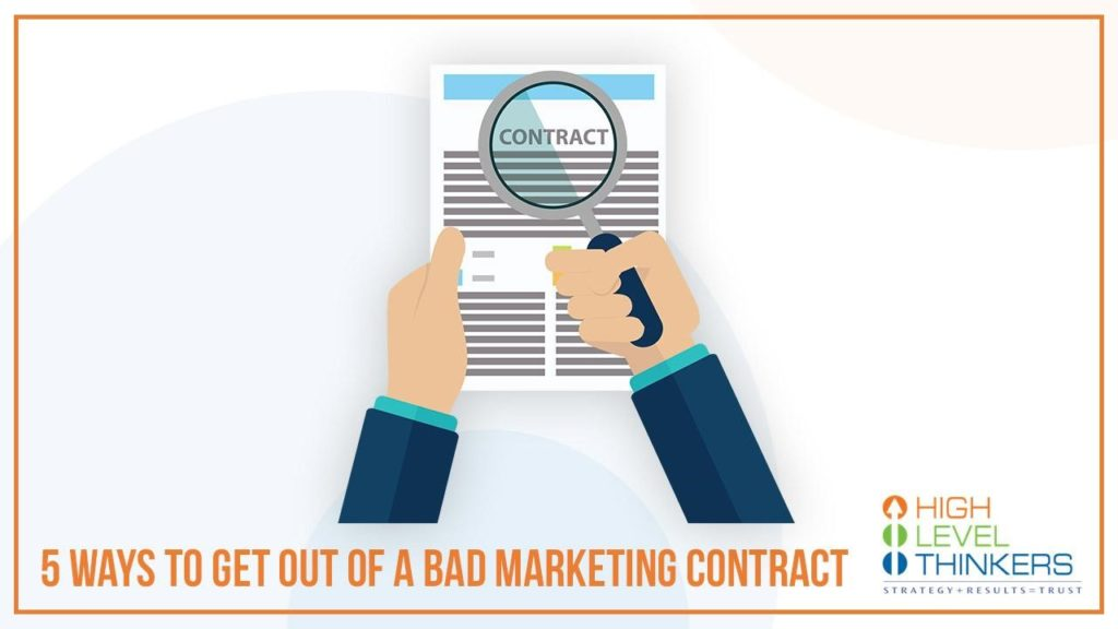 bad marketing contract 1024x576 - What if you're stuck in a bad digital marketing contract?