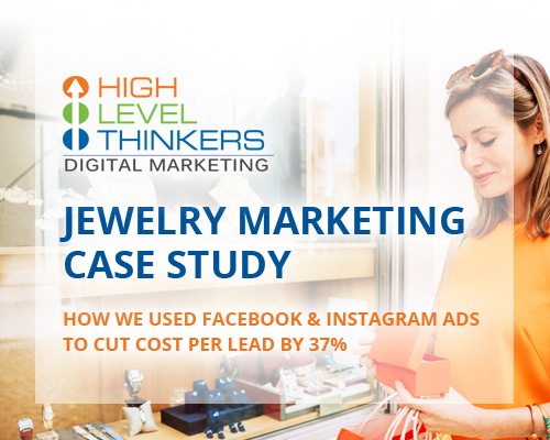 jewerly marketing case study banner 2 - How We Used Facebook & Instagram Ads to Cut Cost Per Lead by 37%