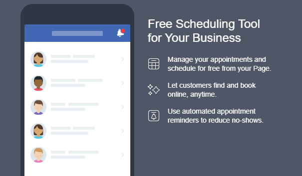 041320a - Facebook's NEW Appointment feature helps you grow your business
