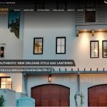 Copper Gas Electric Lanterns Flambeaux Lighting New Orleans