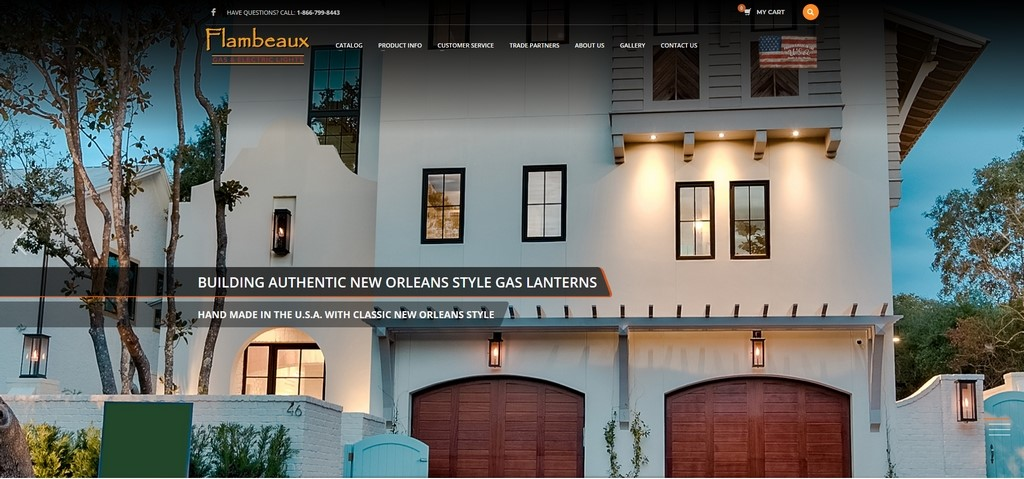 Copper Gas Electric Lanterns Flambeaux Lighting New Orleans2 - High Level Thinkers Proud of Our Team's Efforts!